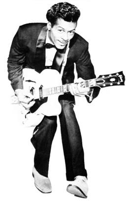 Chuck Berry - Foto: Reprodução de capa de single