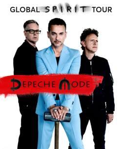 Cartaz da nova turnê do Depeche Mode - Foto: Divulgação