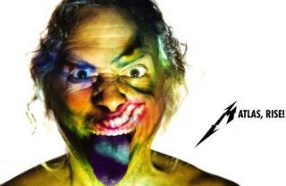 """Metallica - Reprodução da imagem de divulgação da faixa """"Atlas, Rise!"""""""