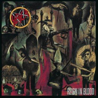 """""""Reign in Blood"""" - Reprodução da capa"""