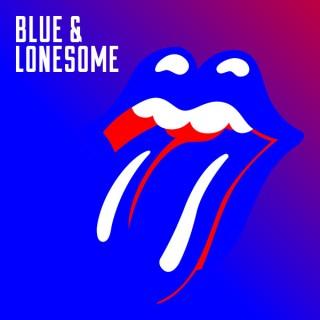 """Reprodução da capa do disco """"Blue & Lonesome"""""""