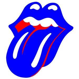 Logo dos Stones adaptado ao estilo da capa do novo álbum