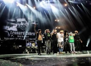 Guns N' Roses em SP - Foto: Divulgação Guns N' Roses/Katarina Benzova