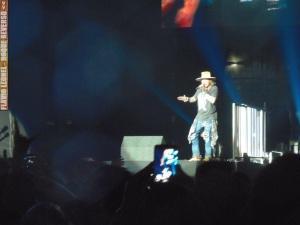 Guns N' Roses em SP no dia 12/11 - Foto: Flavio Leonel/Roque Reverso