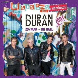 Duran Duran em BH - Cartaz de Divulgação