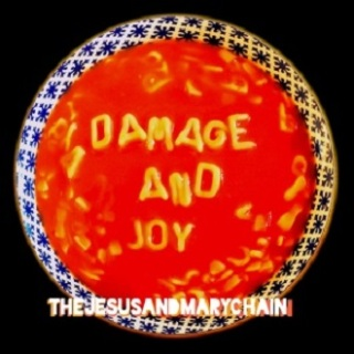 "Reprodução da capa do disco ""Damage And Joy"", do The Jesus and Mary Chain"
