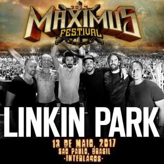 Linkin Park no Maximus Festival - Cartaz de Divulgação