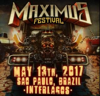 Maximus Festival 2017 - Cartaz de Divulgação