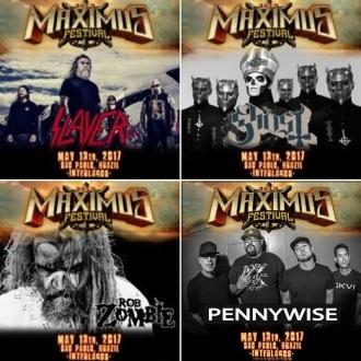 Maximus Festival 2017 - Montagem com atrações anunciadas