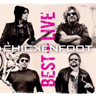 """Chickenfoot - Reprodução da capa da compilação """"Best + Live"""""""