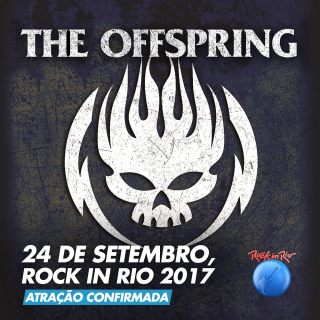 The Offspring - Cartaz de Divulgação do Rock in Rio