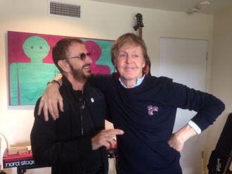 Ringo Starr e Paul McCartney - Foto: Divulgação