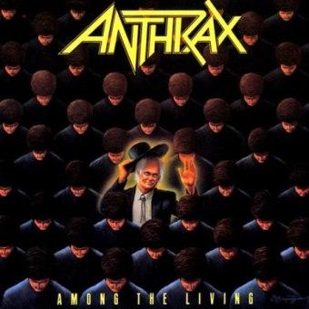 """""""Among the Living"""" - Anthrax - Reprodução de Capa"""