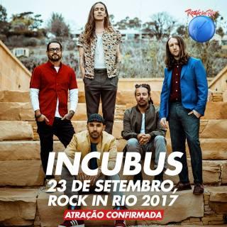 Incubus no Rock in Rio - Foto: Divulgação Rock in Rio