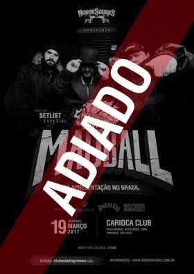 Madball - Aviso de Cancelamento de show em SP
