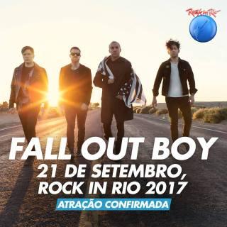 Fall Out Boy - Foto: Divulgação Rock in Rio