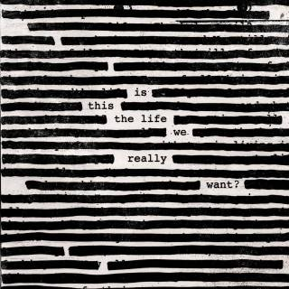 "Roger Waters - Reprodução da capa do disco ""Is This The Life We Really Want?"""