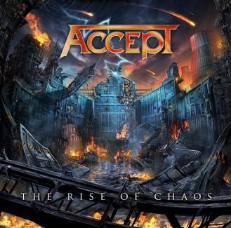 """""""The Rise of Chaos"""" - Reprodução da capa do novo disco do Accept"""