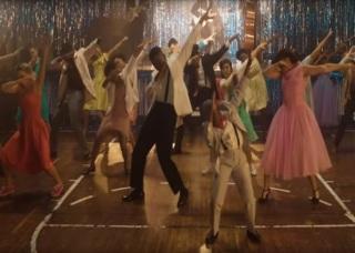 Reprodução da imagem do clipe de Chuck Berry no YouTube