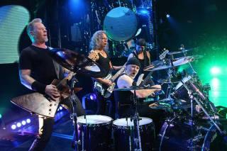 Metallica - Foto: Divulgação Metallica Facebook