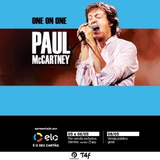 Paul McCartney em Salvador - Cartaz de Divulgação
