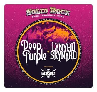 Solid Rock - Cartaz de Divulgação