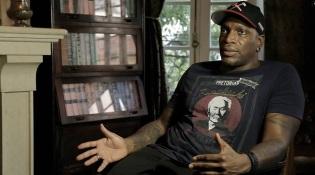 """Derrick Green no documentário """"Sepultura Endurance"""" - Foto: Divulgação"""