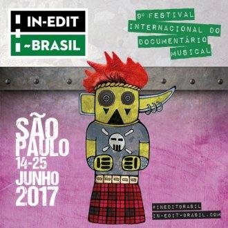 In-Edit Brasil 2017 - Cartaz de Divulgação