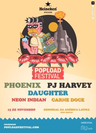 PopLoad Festival 2017 - Cartaz de Divulgação