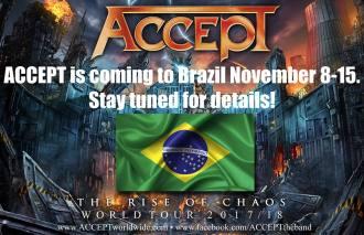 Accept - Reprodução de Imagem com anúncio do retorno ao Brasil
