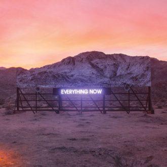 """""""Everything Now"""" - Reprodução da capa do novo disco do Arcade Fire"""