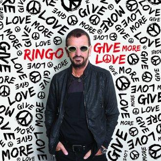 """Ringo Starr - """"Give More Love"""" - Reprodução da capa"""