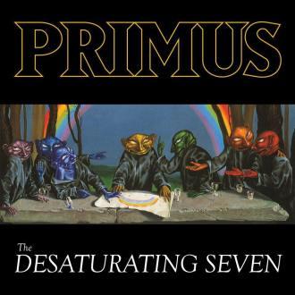 """Primus - Reprodução da capa do disco """"The Desaturating Seven"""""""