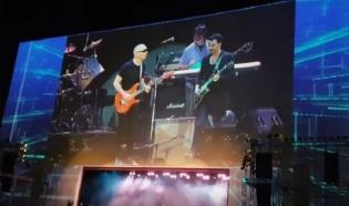 Joe Satriani no Auditório Ibirapuera - Foto: Reprodução do YouTube