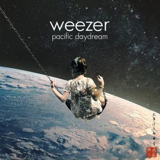 """Weezer - Reprodução da capa do disco """"Pacific Daydream"""""""