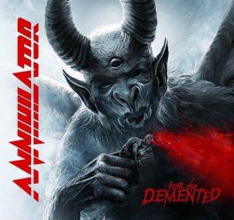 """Annihilator - Reprodução da capa do disco """"For The Demented"""""""