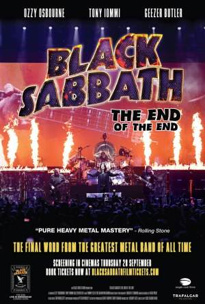 Black Sabbath - The End of The End - Cartaz de Divulgação
