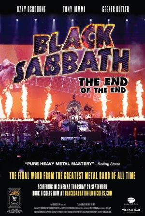 Black Sabbath - The End of The End - Cartaz de Divulgação