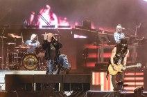 Guns N' Roses no Rock in Rio - Foto: Divulgação Facebook