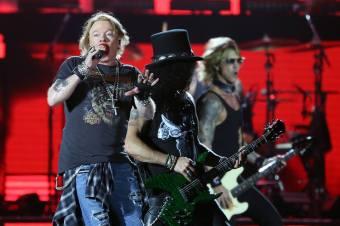 Guns N' Roses no São Paulo Trip - Foto: Divulgação Mercury Concerts/Ricardo Matsukawa