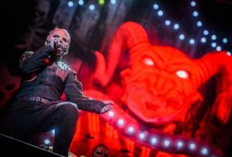 Slipknot em São Paulo em 2015 - Foto: Divulgação Midiorama