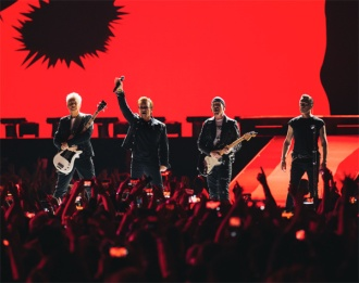 U2 em SP - Foto: Divulgação U2