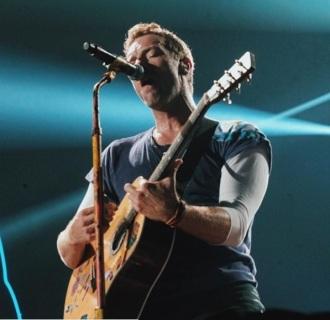 Coldplay em SP - Foto: Divulgação Coldplay Instagram