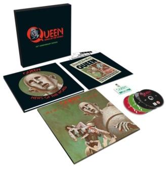 """Queen - Reprodução da versão comemorativa do disco """"News of the World"""""""