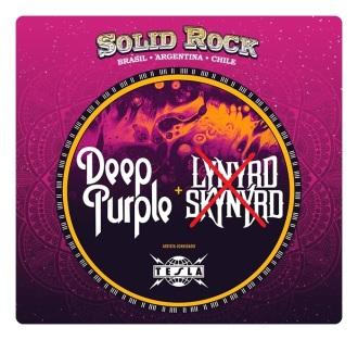 Solid Rock - Cartaz de Divulgação modificado