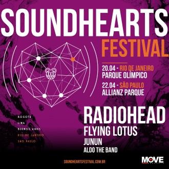 Soudhearts Festival - Reprodução do Cartaz de Divulgação