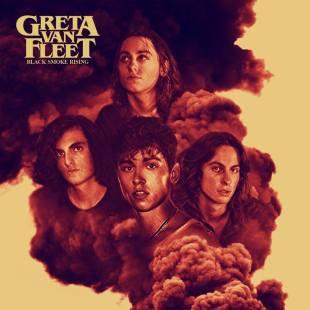"""Greta Van Fleet - Reprodução da Capa do EP """"Black Smoke Rising"""""""