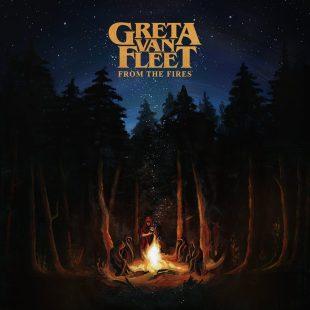 """Greta Van Fleet - Reprodução da Capa do EP """"From The Fires"""""""