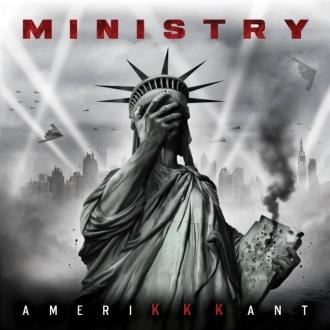 """Ministry - Reprodução da capa do disco """"AmeriKKKant"""""""