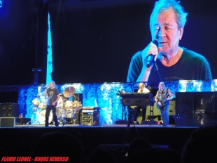 Deep Purple no Solid Rock em SP - Foto: Flavio Leonel/Roque Reverso